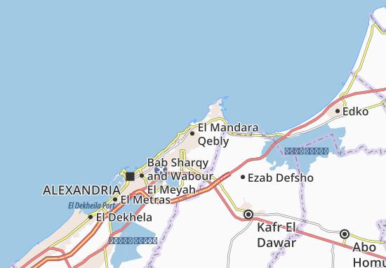El Mandara Qebly Map
