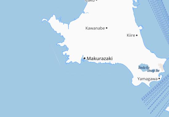 Makurazaki Map