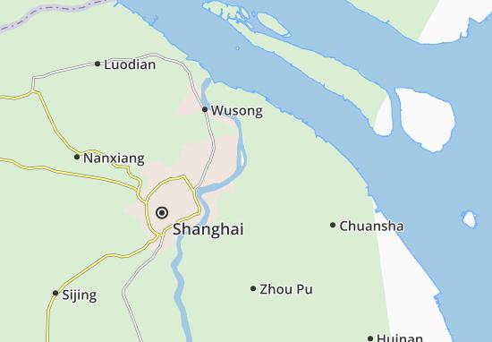 Qingningsi Map
