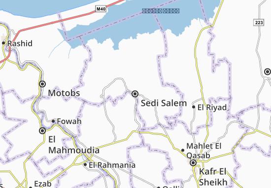 Mapa Sedi Salem