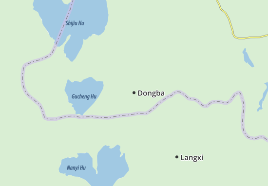 Carte-Plan Dongba