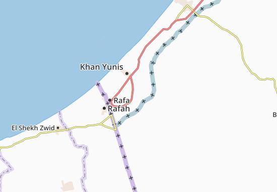 Kaart Plattegrond Al Fukhkhari