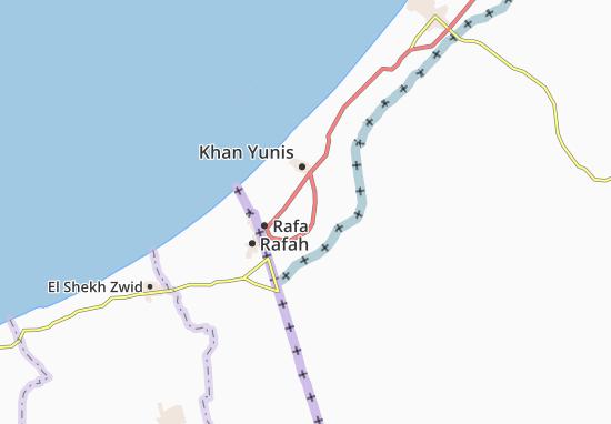 Kaart Plattegrond Umm Kamil