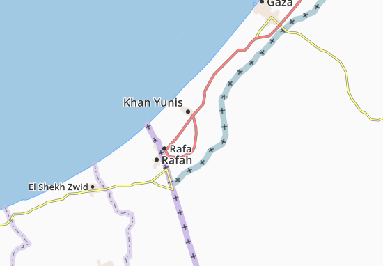 Kaart Plattegrond Qa` Al Kharabah