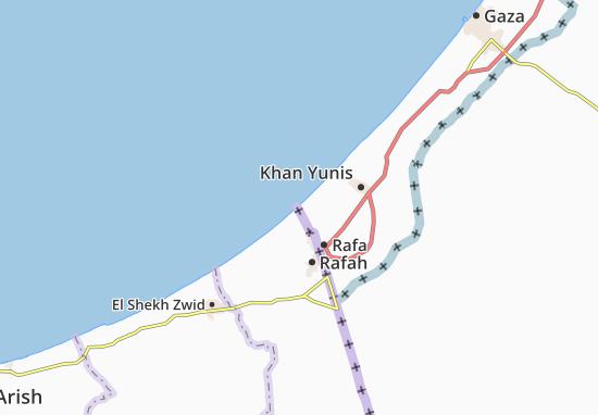 Karte Stadtplan Al Qaryah As Suwaydiyah