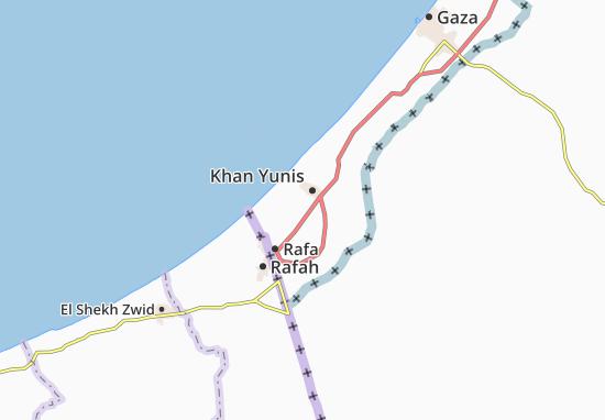 Qizan An Najjar Map