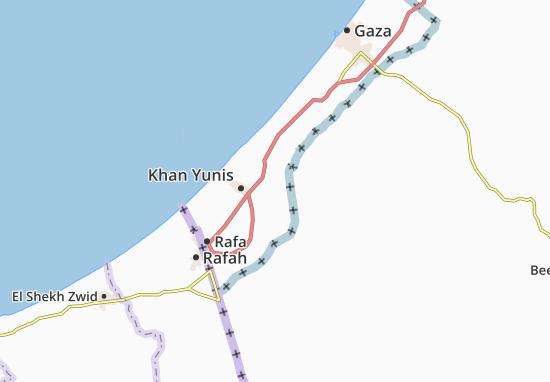 Mapas-Planos `Abasan Al Jadidah