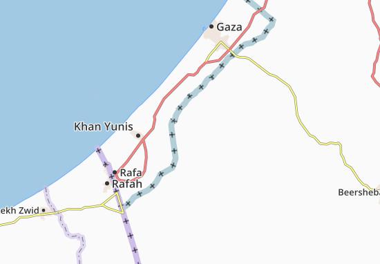 'En Hashelosha Map