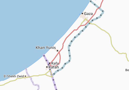 Al Qararah Map
