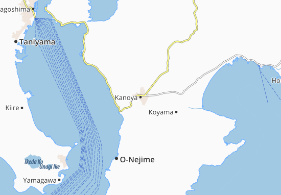 Kanoya Map