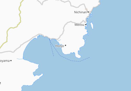 Honjo Map