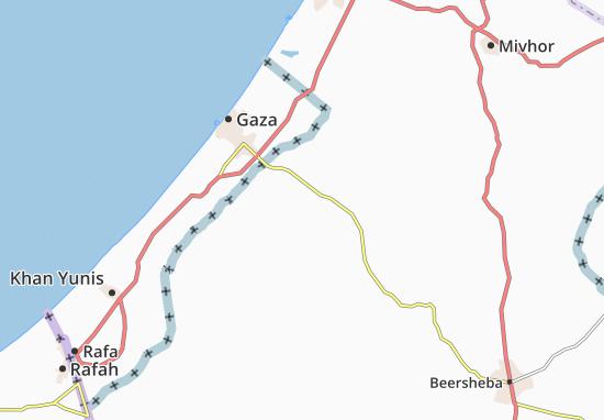 Kaart Plattegrond Kefar Maymon