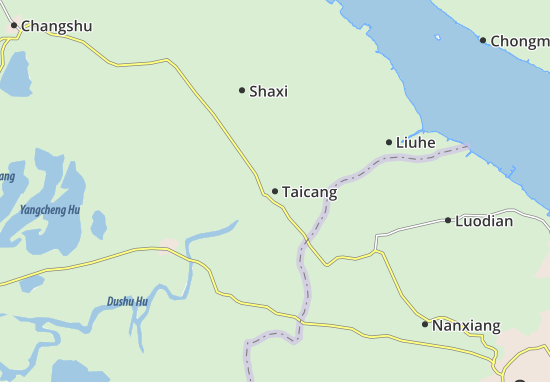Taicang Map
