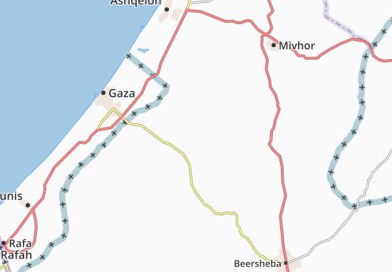 Kaart Plattegrond Zeru'A