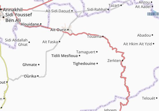 Carte-Plan Tidili Mesfioua