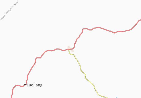Mappe-Piantine Mianyang