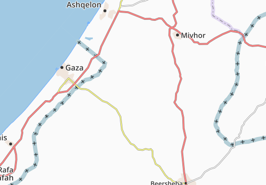 Kaart Plattegrond Nir 'Aqiva