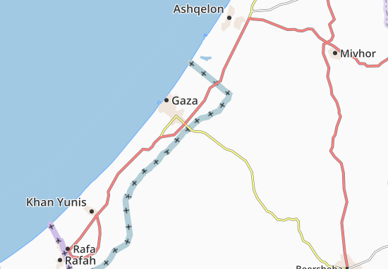 Nahal 'Oz Map