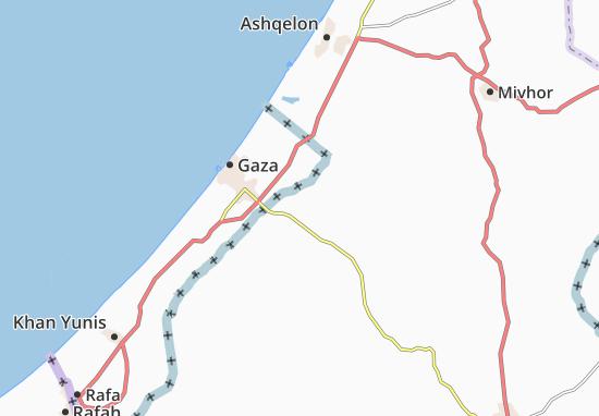 Mapas-Planos Kefar 'Azza