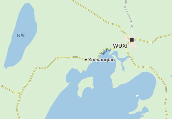 Mapas-Planos Xueyanqiao