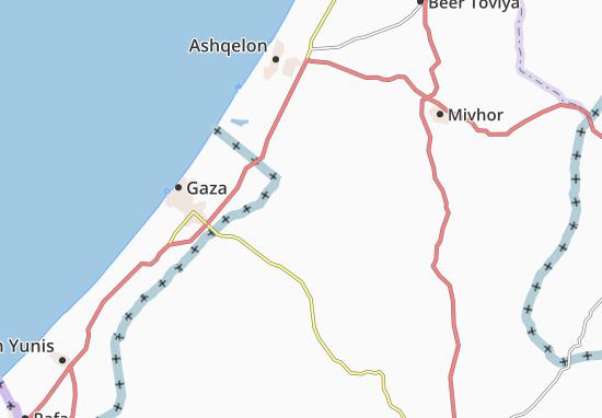 Kaart Plattegrond Gevim