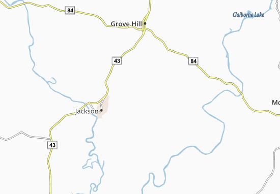 Walker Springs Map