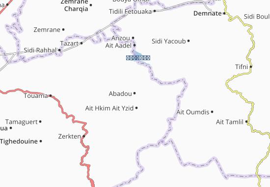 Carte-Plan Abadou