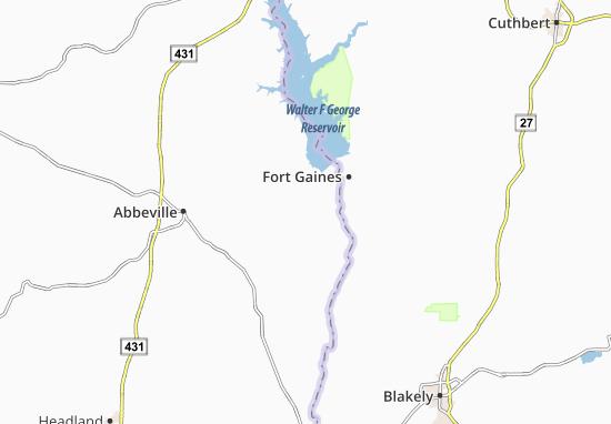Shorterville Map