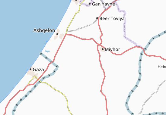 Sede Dawid Map