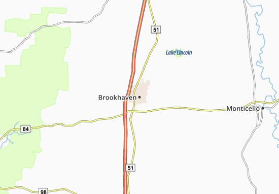 Brookhaven Map