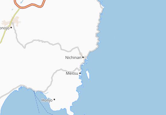 Mapas-Planos Nichinan