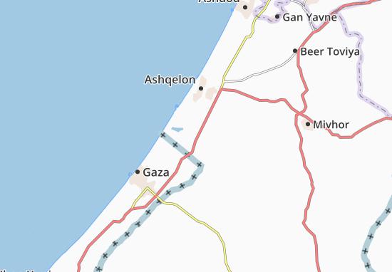 Yad Mordekhay Map