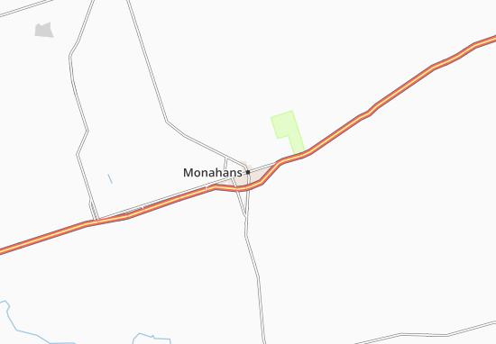 Monahans Map