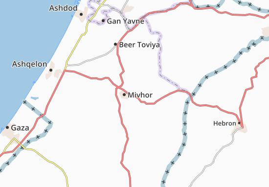 Sede Moshe Map