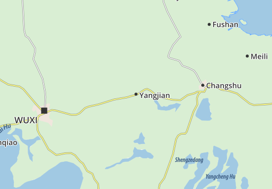Yangjian Map
