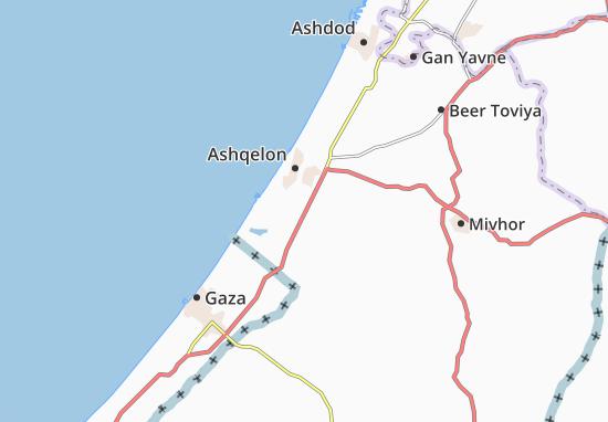 Mavqi'Im Map
