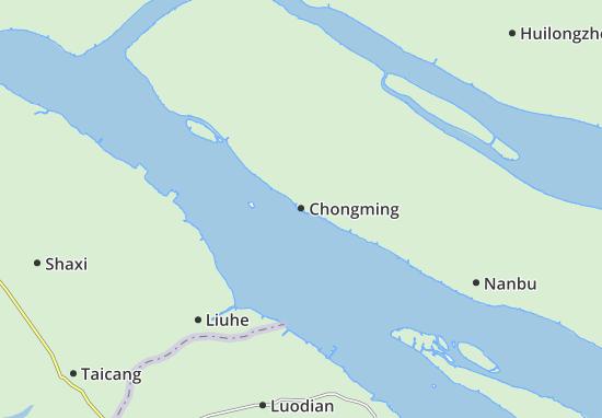 Chongming Map
