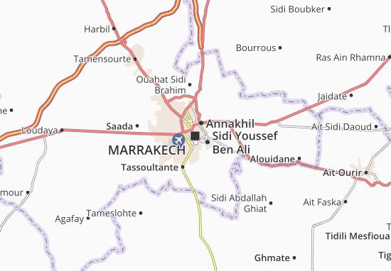 Mapas-Planos Marrakech