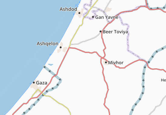 Mapas-Planos Kokhav Michael Sobell