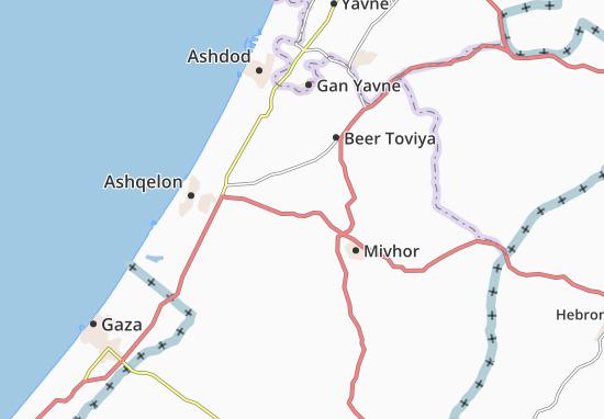 Yad Natan Map