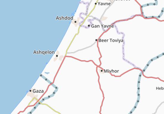 Negba Map