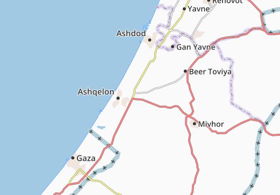 Kaart Plattegrond Berekhya