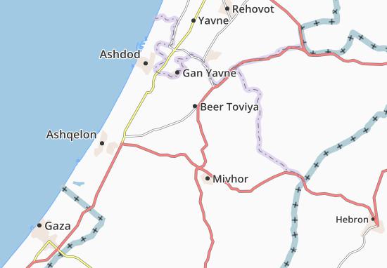 Zerahya Map