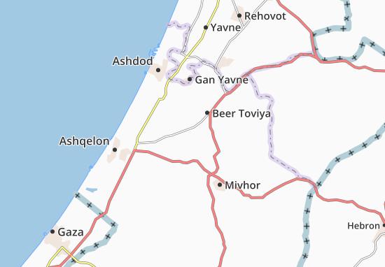 'En Zurim Map