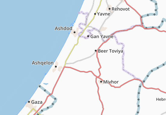 Mapas-Planos Massu'Ot Yizhaq