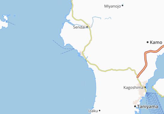Mappe-Piantine Kushikino