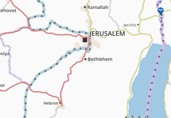 Mapas-Planos Bethlehem