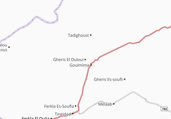 Carte-Plan Gheris El Ouloui