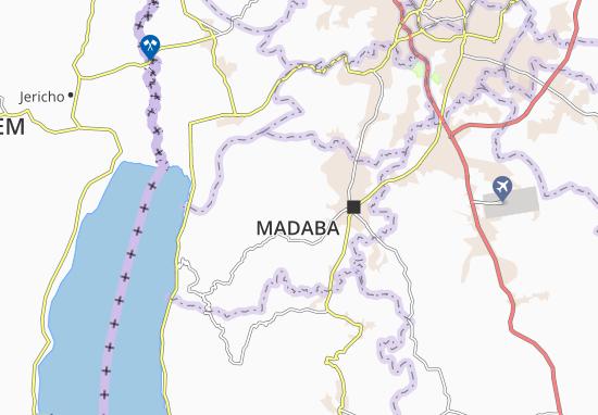 Madaba Qasabah Map