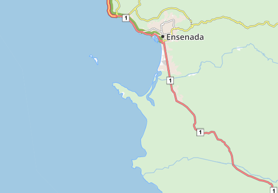 Mapas-Planos Punta Banda